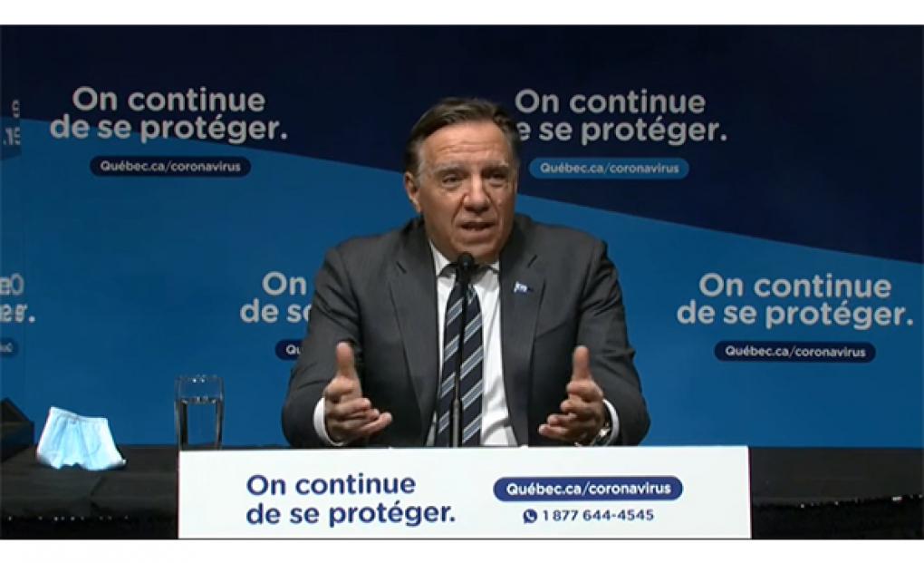 COVID-19 : Couvre-feu sur le Québec à partir du 9 janvier