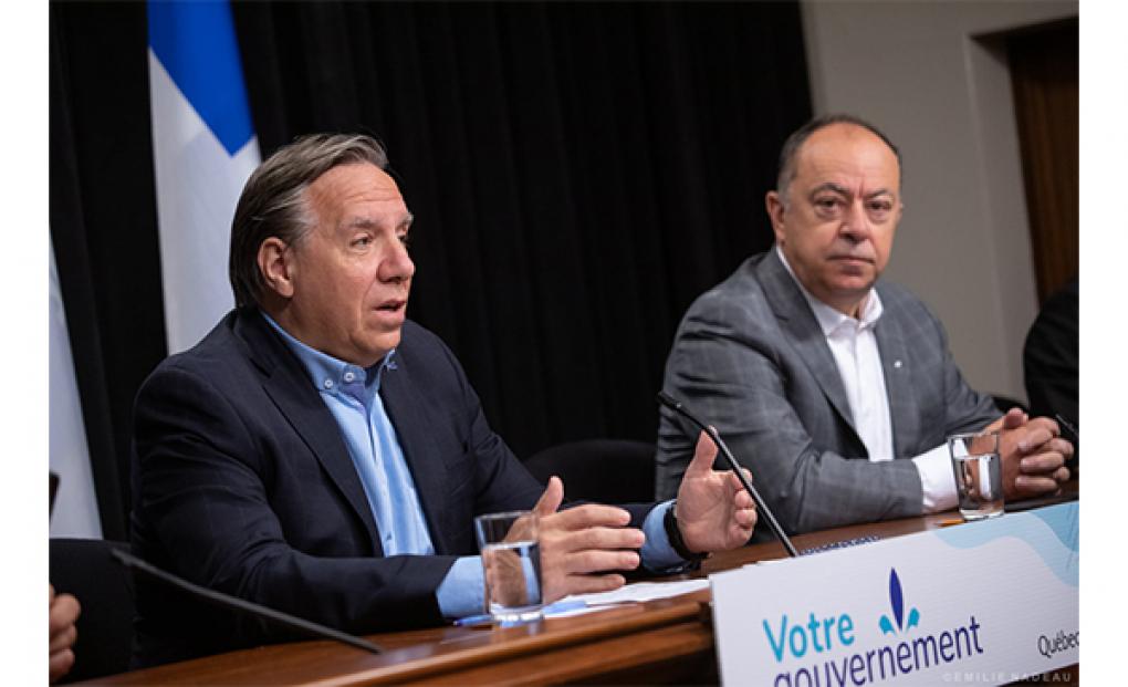 Trudeau prié d'accroître les transferts en santé — Sommet Ford-Legault