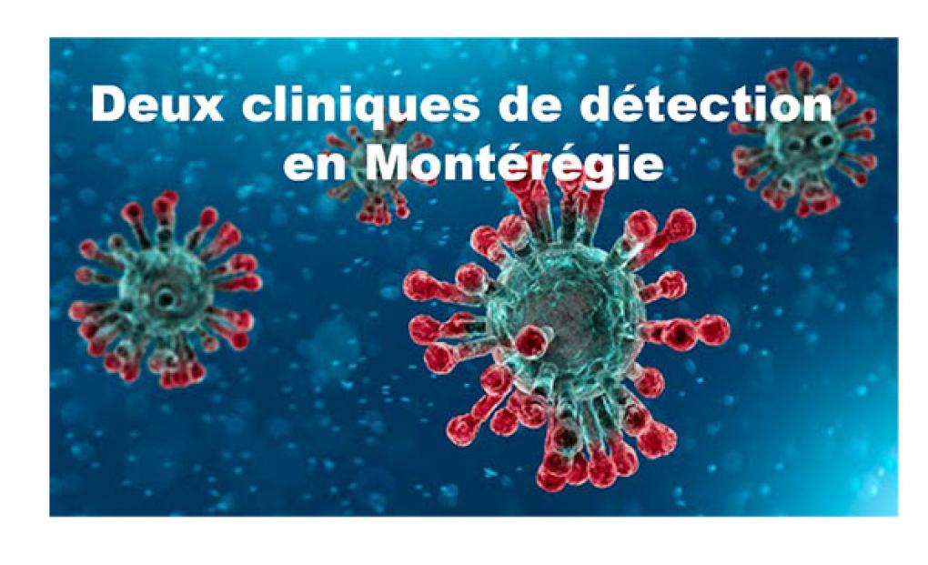 Ouverture des nouvelles cliniques de dépistage de la COVID-19 au Québec